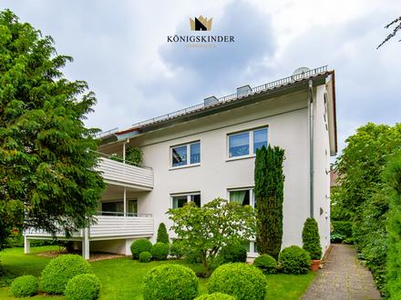 Kapitalanleger aufgepasst: Große 4 Zi-Wohnung, ruhige Randlage, 96m² xxl-Balkon