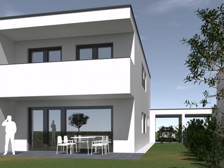 Doppelhaushälfte Top 06 in Pasching – top Architektur, hervorragende Qualität, geniales Grundstück, schlüsselfertig, provisionsfrei
