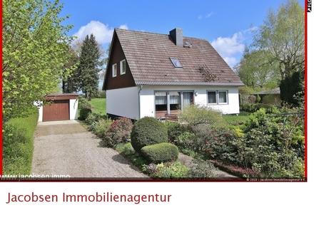 """Ein Fertighaus im Außenbereich von Dammholm in der herrlichen Landschaft """"Angeln""""."""