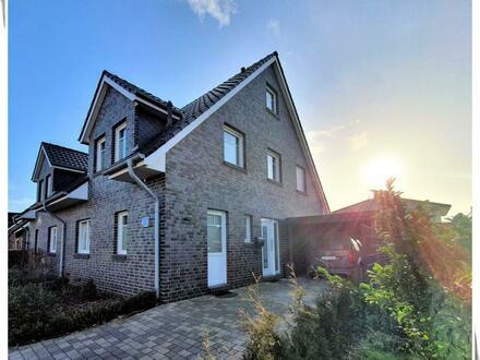 In bester Lage von Wolthusen! Neuwertige und geräumige Doppelhaushälfte mit Terrasse in Südwestrichtung