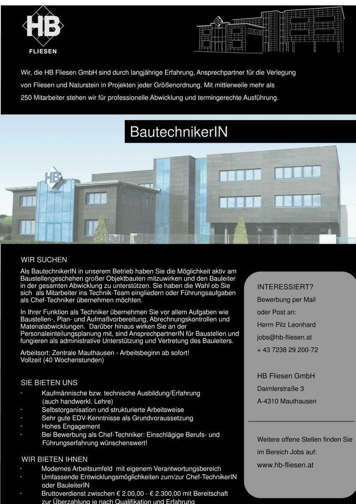 Wir, die HB Fliesen GmbH sind durch langjährige Erfahrung, Ansprechpartner für die Verlegung von Fliesen und Naturstein in Projekten jeder Größenordnung. Mit mehr als 300 MitarbeiterInnen,