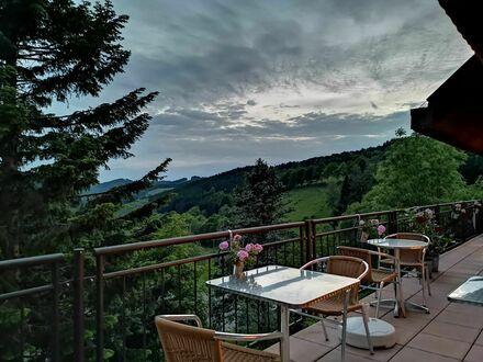 Hotel mit Restaurant in ruhige Lage, toller Fernblick