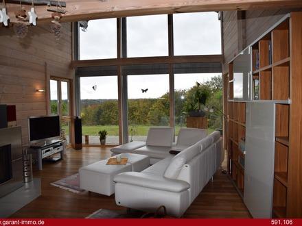 Traumhafter Blick bis zum Donnersberg, exklusives Wohnen mit Möglichkeit für Kleingewerbe