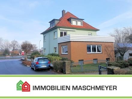 Geräumige Wohnung mit riesen Dachterrasse im Ortskern Bad Essens!