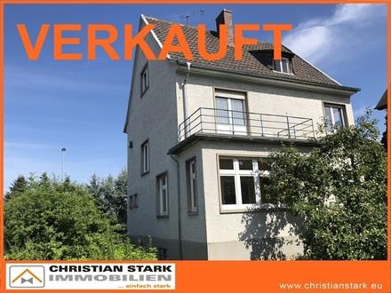 1-2 Familienhaus mit dem Charme der 30er Jahre, nahe Kurgebiet mit 560 m² SW-Grundstück.