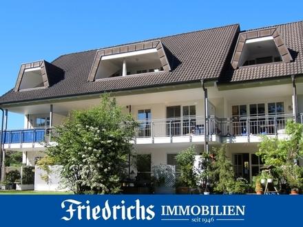 2-Zimmer-Wohnung im I. OG mit 2 Balkonen in Bad Zwischenahn - inkl. TG-Stellplatz