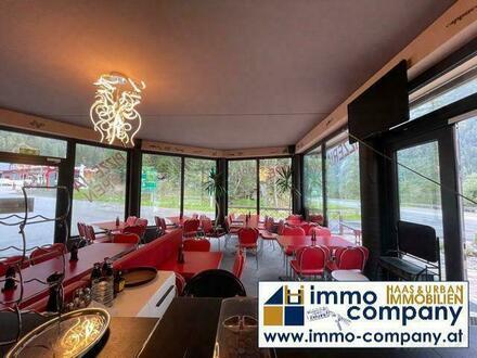 Umhausen/Ötztal: Voll ausgestattetes Restaurant in Toplage, 60 Sitzplätze sowie weitere 30-60 Sitzplätze auf der Terras…