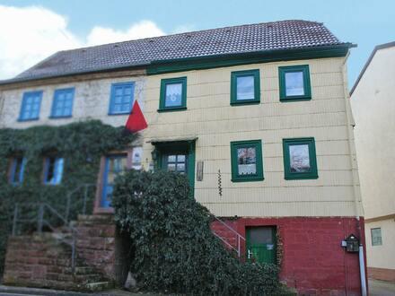Rustikales Häuschen in Kirchzell