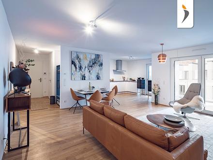 Großzügiges Wohnflair genießen: moderne Wohnung mit 3 Zimmern und großer Dachterrasse