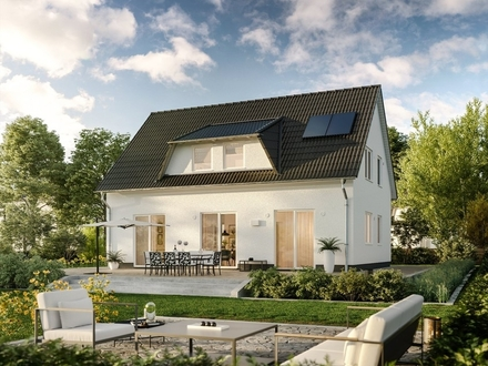 Hanglage mit tollem Landschaftsblick Einfamilienhaus in Dörentrup