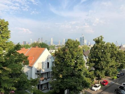 Frankfurt Sachsenhausen: 3-Zimmer-Wohnung in beliebter Wohnlage mit Skyline-Blick