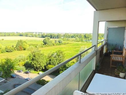 Balkon mit herrlicher Aussicht
