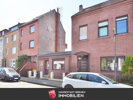 Hastedt / Reihenmittelhaus mit großzügigem Sonnengarten