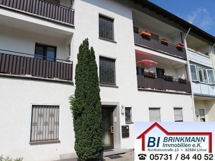 Löhne Gohfeld - gemütliche Obergeschosswohnung in zentraler Lage mit Balkon!