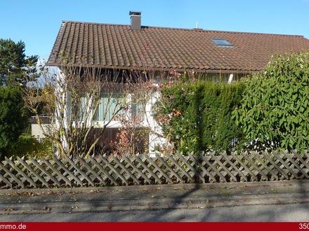 Die Lage macht's perfekt. Solides Einfamilienhaus mit Garten und Garage!