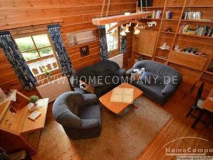 Wohnen im gemütlichen Holzhaus mit Sauna in Kirchhatten