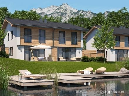 Doppelhaushälften-Grödig-StLeonhard-Salzburg-Ansicht