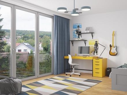 4-Zimmerwohnung mit Terrasse mit KfW 40+