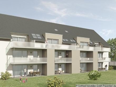 ++Neubauprojekt Altenstadt++ Schicker EG Wohn(t)raum mit Süd-Terrasse, Gartenanteil, Tiefgarage, uvm