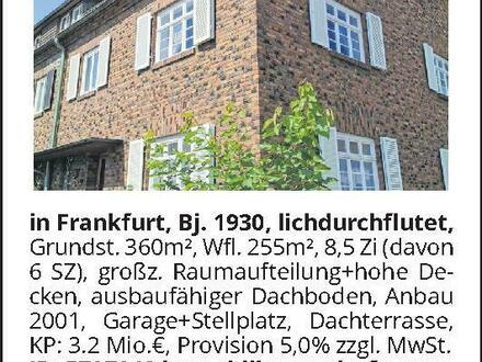 Stadthaus im Holzhausenviertel