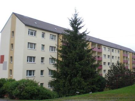 Geräumige und helle 2-Zi-Wohnung in Lengenfeld mit Balkon, EB-Küche und kurzen Wegen in die Stadt