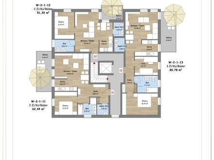 2-ZKB Wohnung mit Balkon im 1. Obergeschoss!