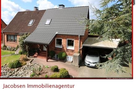 """""""Grünes Wohnzimmer"""" für Mußestunden - Doppelhaushälfte in Schleswig-Nord"""