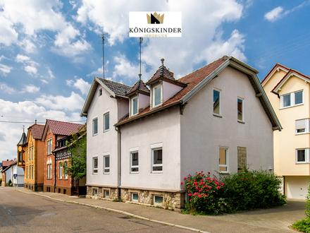 Kapitalanlage - zentral gelegenes Zweifamilienhaus in der Innenstadt von Winnenden