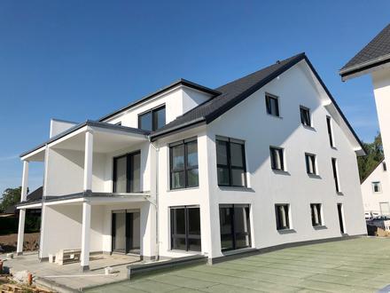 Neubau Erdgeschosswohnung mit Terrasse, Garage & Stellplatz