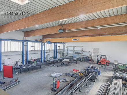GEWERBE m²: Halle für Produktion oder Lagerhaltung in den Böllinger Höfen