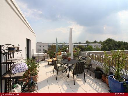 Dachterrasse - Loggia - zwei Bäder - vier Zimmer - über 100 qm
