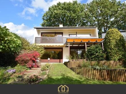Alt Borgfeld / Einfamilienhaus mit Süd-Garten, Garage und Carport auf 280 m² Wohn- und Nutzfläche