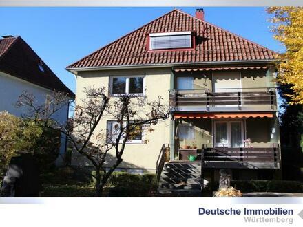 Schönes Mehrfamilienhaus mit Garten in S-Sonnenberg
