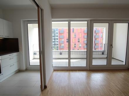 Wohnen am Westhafen: Moderne 3-Zimmer-Wohnung mit Balkon & Loggia