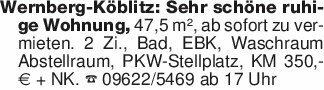 Wernberg-Köblitz: Sehr schöne...