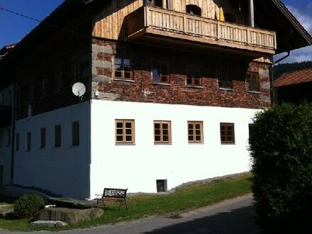EIN SCHMUCKSTÜCK - Ehemaliges Mühlengebäude in Sankt Englmar