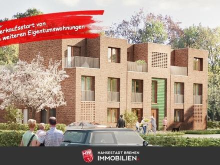 Worpswede / Kapitalanlage: Bötjerscher Hof - Hochwertige Neubau-Eigentumswohnung mit Dachterrasse