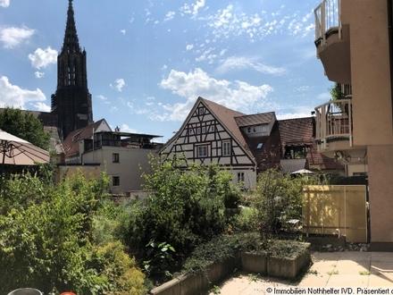 Zentraler können Sie in Ulm kaum Arbeiten, Büro- bzw. Praxisetage in der Stadtmitte