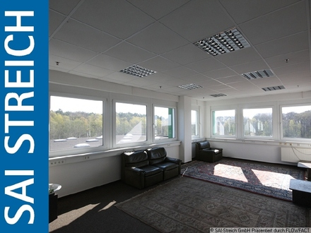 Blick ins Grüne! Bürofläche mit optionalem Lager in Logistikkomplex!