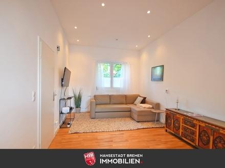 Bürgerpark / Kapitalanlage: Modernisierte, helle 2-Zimmer Wohnung nahe Bürgerpark mit Stellplatz