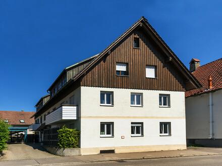 Zeitnah bezugsfrei !! Zentrumsnahe 3-Zimmer-Wohnung in Leutkirch im Allgäu!