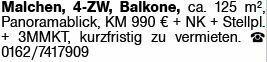 4-Zimmer Mietwohnung in Malchen (64342)