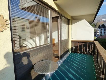 Toplage Aigen: Sonnige 2-Zimmer-Eckwohnung mit großem Balkon