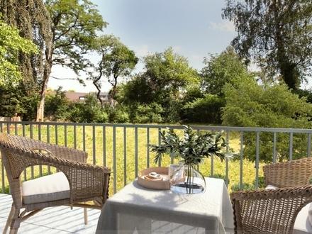 Neubau 3 Zi.-Whg. mit Balkonen auf großem Gartengrundstück in ruhiger Lage von Solln nahe der U3