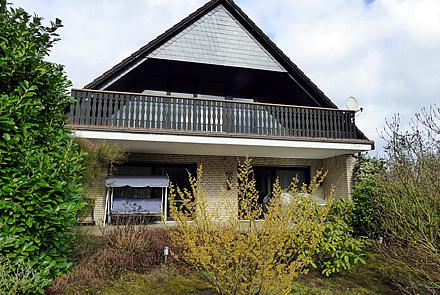 Einfamilienhaus in Ortsrandlage mit Blick ins Grüne