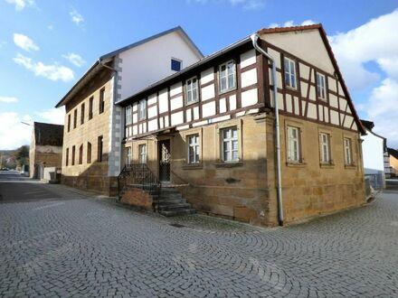 1 8 0. 0 0 0,- für 3 5 0 qm RESTHOF verteilt auf 2 Häuser mit SCHEUNE nur 12 km nach BAMBERG