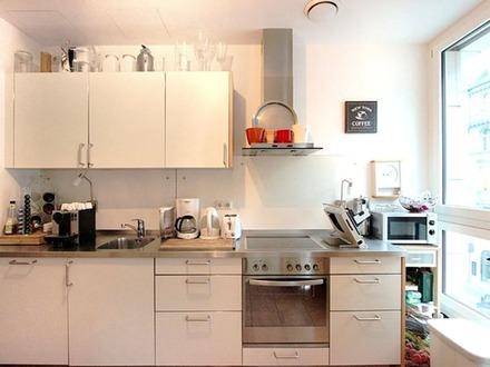 Möbliert & zentral 2 Zimmer wohnung: Modernes Wohnen