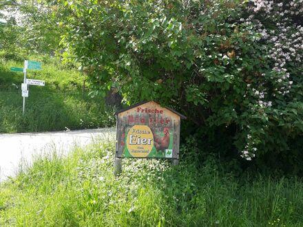 *Ruhe, Natur & pures Landleben, moderne 3-Zimmer-Neubau-Wohnung im bewirtschafteten Bio-Bauernhof bei Bad Feilnbach* ca.…
