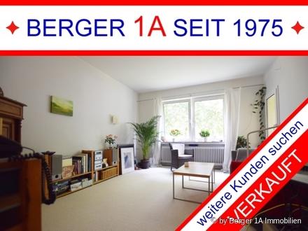 VERKAUFT - GETE VIERTEL - 2 ZI.-WHG im HP mit LOGGIA, W-Bad mit Fenster, in sehr guter Wohnlage