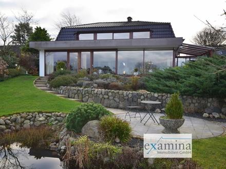 Urlaubsflair das ganze Jahr! Exklusive Villa mit traumhaften Ausblick auf die Förde!